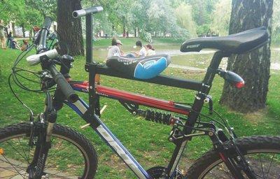 Велокресло. Детское сидение на родительский велосипед