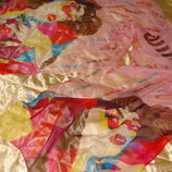 шаль палантин платок MIU MIU шелк Италия 70Х173 идеал оригинал Louis Vuitton Burberry Gucci косынка