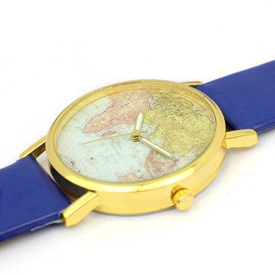 21643187beb2 Новинка Стильные женские часы Карта мира   125 грн - наручные часы в ...
