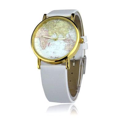 e47b9897fc03 Новинка Стильные женские часы Карта мира  125 грн - наручные часы в ...