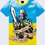 Патриотическая футболка 3d Казак