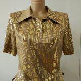 Цену снизила Эффектная блуза Буквы р.46-48