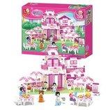 Конструктор детский Sluban 0150 Розовая мечта