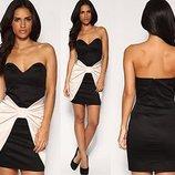 Шикарное короткое платье Asos с большим бантиком