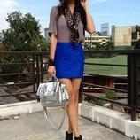 Красивая синяя юбка от Н&м