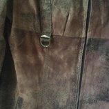 Молодёжное длинное пальто Б7003