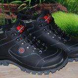 Ботинки зимние кожа М58К качество люкс Merrell размеры 40 41 42 43 44 45