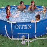 INTEX 28202 305-76 См. Фильтрующий Насос. Круглый Каркасный Бассейн