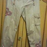 Суперовые брюки спортивно-классический стиль катон