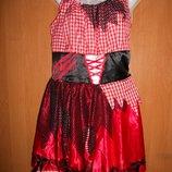Карнавальный костюм George пиратка разбойница р.50-52 р.16-18