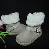Сапожки Capcake 22р,ст 14,5 см.Мега выбор обуви и одежды