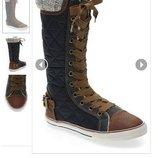 Высокие кеды Next 24 7 р,ст 15,5см.Мега выбор обуви и одежды