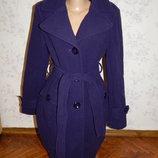 пальто шерстяное стильное модное р14