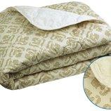 Шерстяное одеяло Комфорт плюс Орнамент зима бязь шерсть