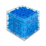 Куб-Лабиринт.головоломка. 4 цвета