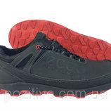 Мужские кроссовки кожаные Ecco модель 10