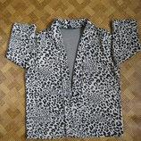 леопардовый кардиган, пиджак, кофта - George - 48Eur - наш 54р.