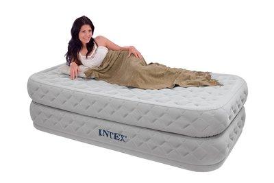 Надувная Односпальная Кровать INTEX 66964 99-191-51 См. Встроенный Электронасос 220W
