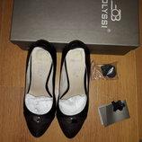 Кожаные туфли состояние новых 38р.