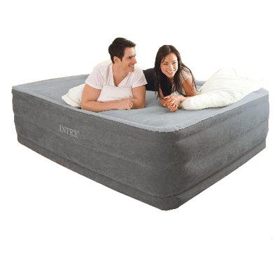 Надувная Двуспальная Кровать INTEX 64418 152-203-56 См. Встроенный Электронасос 220W