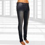 Женские узкие джинсы с шипами укр. 44 Тakko Fashion Германия
