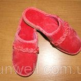 Детские домашние тапочки для девочек Белста с закрытым носочком р-р 30-34