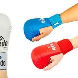 Перчатки для карате накладки карате Daedo 5076 размер S-L 3 цвета