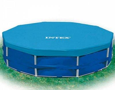 Тент 28031 для круглых каркасных бассейнов, даметр 366 см