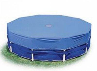 Тент 28032 для круглых каркасных бассейнов, диаметром 457 см