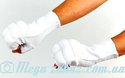Перчатки для карате перчатки карате 1085 хлопок/эластан, L