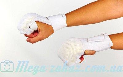 Накладки для карате перчатки для карате 1041 хлопок/эластан, M-L