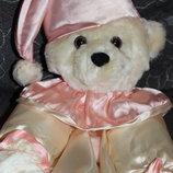 Красивая атласная пижамница-Мишка Gifts and treats Англия.67 см