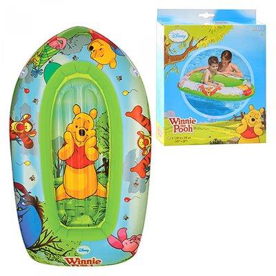 Детская надувная лодочка для плавания плотик 58394 Винни Пух
