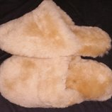 38р-24-24.5 см овчина новые тапки