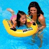 Надувная доска для плавания - плотик 58167