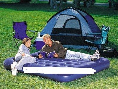Кровать надувная флок Bestway 67004 203х185х22