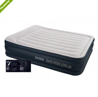 Надувная велюровая кровать Intex 64140
