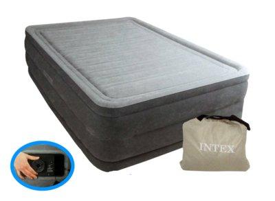 Надувная кровать Comfort-Plush High Rise Airbed 64418 203х153х56см