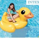Надувной плотик - круг Intex 57556 Утенок