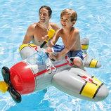 Надувная игрушка-плотик Самолет для игр на воде Intex 57537