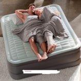 Двуспальная надувная кровать Intex 152х203х46см со встроенным насосом 220В 64486