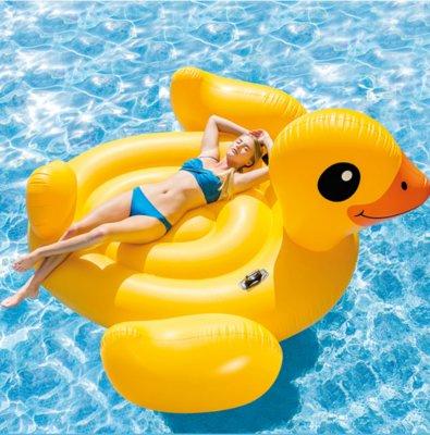 Intex 56286EU Мега Желтый остров плот для плавания Duck