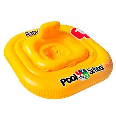 Надувной круг плотик Учимся плавать Intex 56587