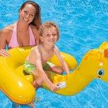 Детская надувная лодочка плотик «Жираф» 56566