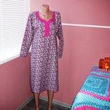 Платье для дома , платье из тонкого хлопка