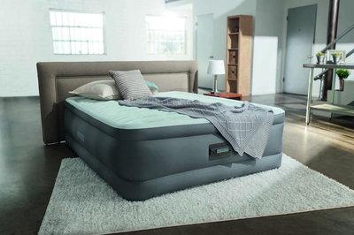 Велюр Кровать Со Встроенным Насосом Двухспальная 64486