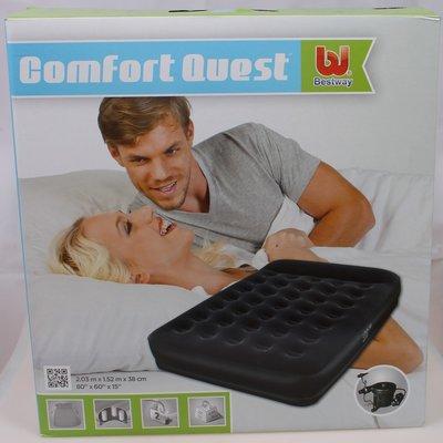 Двуспальная надувная кровать Bestway 67457 203х152x38 см.