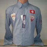 Распродажа Мужская рубашка с длинным рукавом Vancouver Ski. Разные цвета.