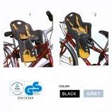 Велокресло/ Разные модели. Крепление спереди и сзади, до 15кг.