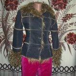 Фірмова тепла джинсова куртка Miss Posh, S.
